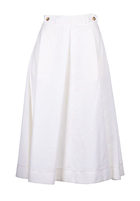 Midi midi skirt - cream JUCCA | Skirts | J3115007045