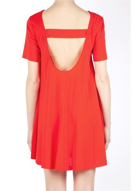 Short black dress - red JUCCA |  | J31170111638