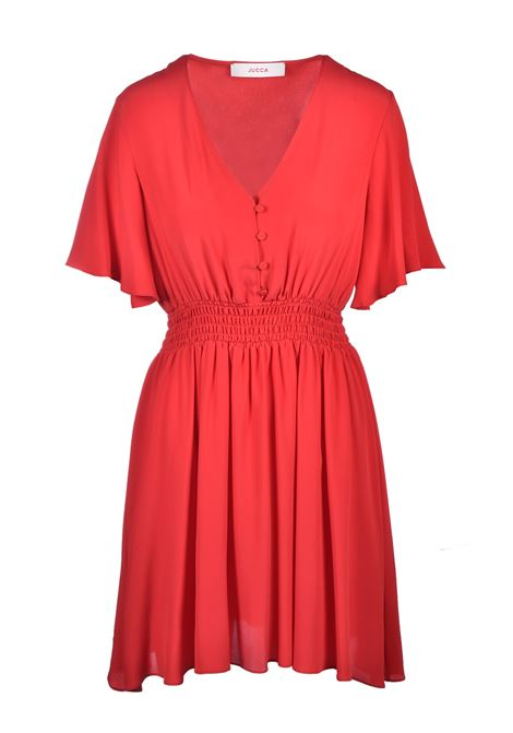 Mini dress with elastic - poppy JUCCA | Dresses | J3117019656