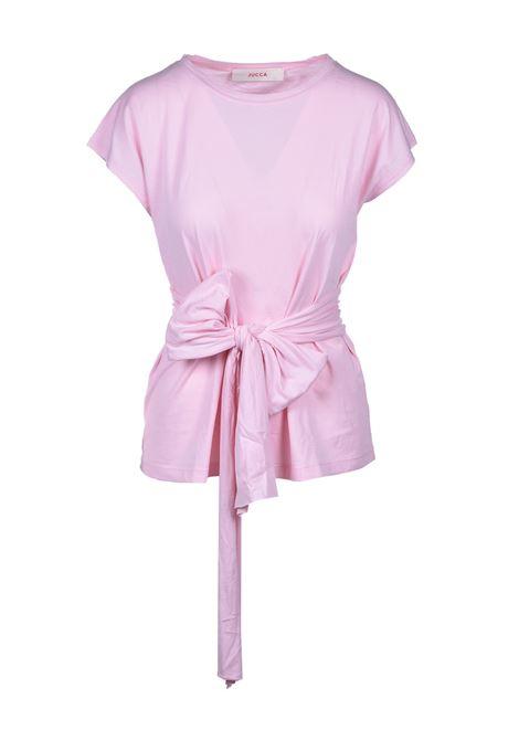 t-shirt con cintura - rosa JUCCA | T-shirt | J3118013311