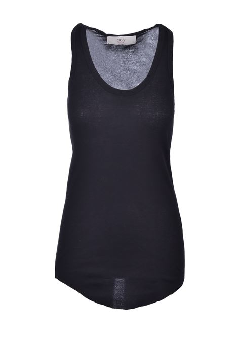 Rowing tank top - black