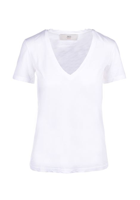 v-neck t-shirt - white JUCCA | T-shirts | J3118106001