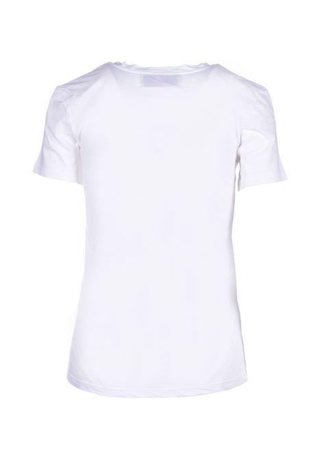 t-shirt scollo a v - bianco JUCCA | Top & T-shirt | J3118106001