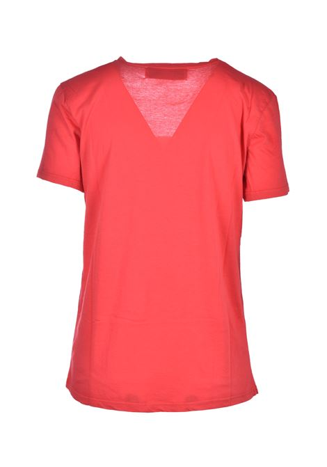 t-shirt scollo a v - papavero JUCCA | Top & T-shirt | J3118106656