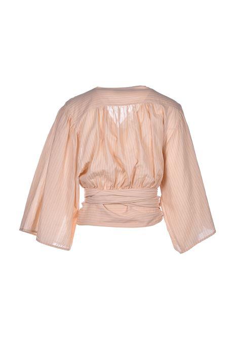 Kimono blouse with ribbon - brut JUCCA | Blouse | J31220041658
