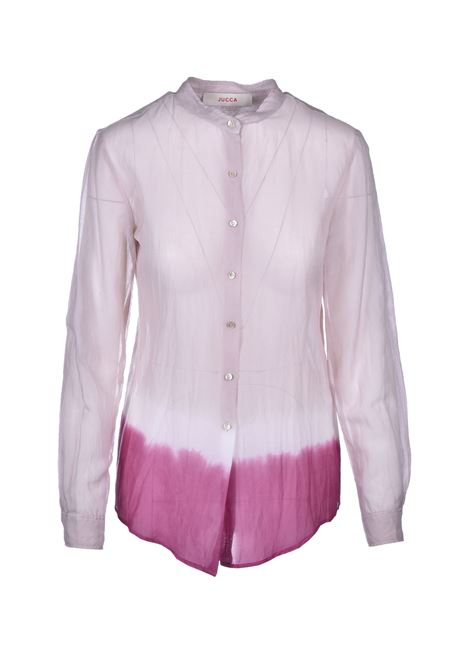 shaded muslin shirt - pink JUCCA | Shirts | J3122012837
