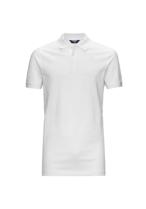 POLO ALAIN - White K-WAY | Polo Shirts | K0089N0K01