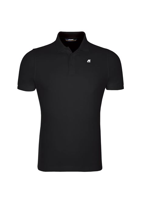 POLO ALAIN - Black K-WAY | Polo Shirts | K0089N0K02