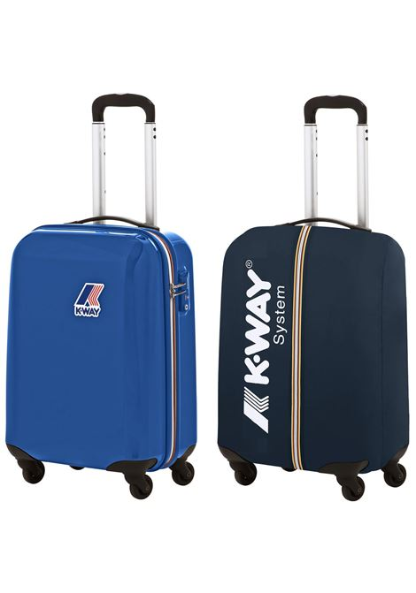 mini system trolley - royal blue K-WAY |  | K00AUF0908