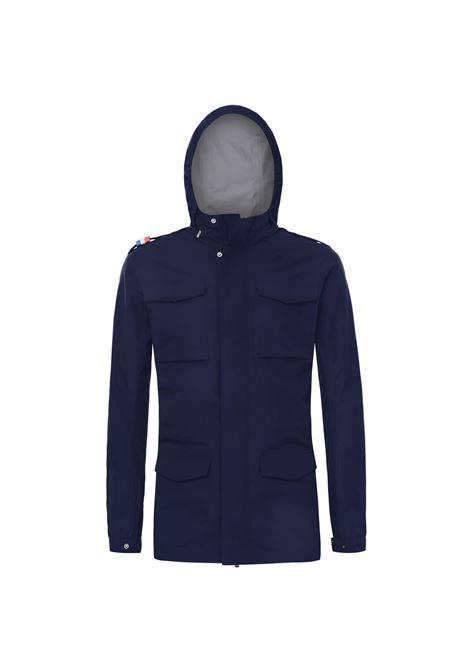 Manfield bonded cotton jacket - blue depht K-WAY | Jackets | K1113SWK89