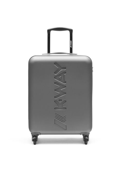 k-air cabin trolley - grey K-WAY |  | K111JMW922
