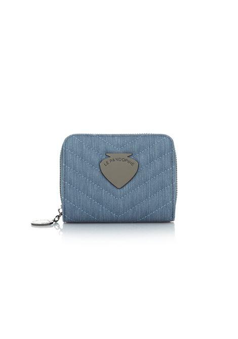 vicky wallet canvas - denim LE PANDORINE | Wallets | DAM0249202