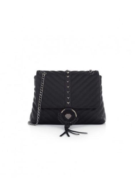 vicky small canvas - black LE PANDORINE | Bags | DAV0250105