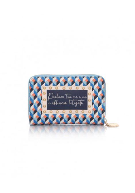 Marrakech wallet - blue LE PANDORINE | Wallets | DBF0251101