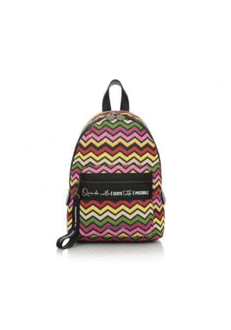 backpack straw - fuxia LE PANDORINE | backpack | DBU0252604