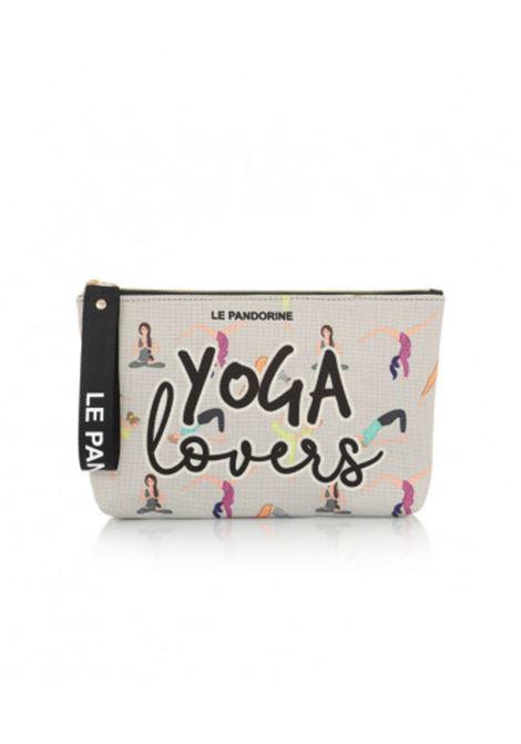 capri pochette yoga grigio LE PANDORINE | Pochette | DCT0255109