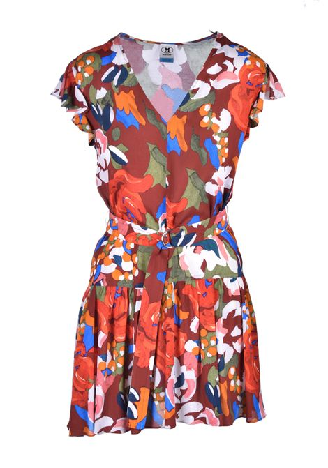 mini dress with V-neck - fantasy M. MISSONI | Dresses | 2DG00262/2W0032S803G