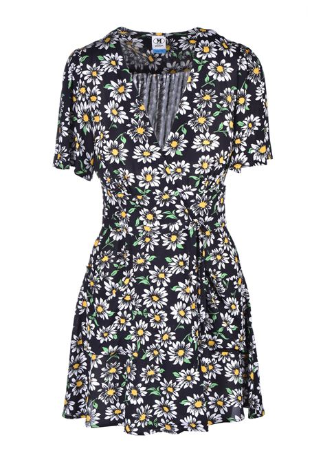 mini V-neck dress - flowers M. MISSONI | Dresses | 2DG00270/2W0035S909J