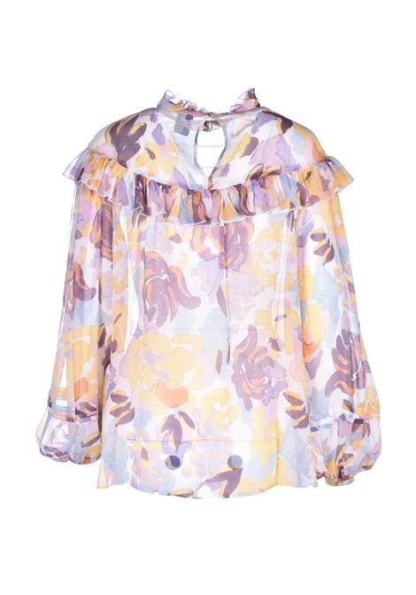 Long sleeve silk shirt M MISSONI | Shirts | 2DJ00079/2W0033S104G