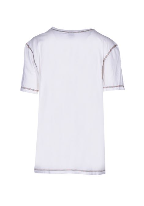 t-shirt manica corta - bianco M MISSONI | Top & T-shirt | 2DL000222J000Z14300