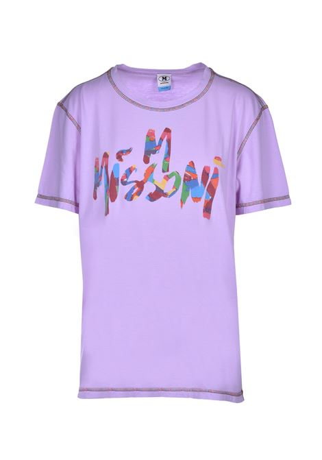 short sleeve t-shirt - lilac M MISSONI | T-shirts | 2DL000222J000Z53620