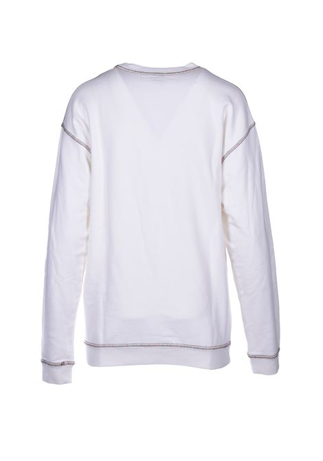 long-sleeved sweatshirt - white M MISSONI | Sweatshirt | 2DN001592J002114300
