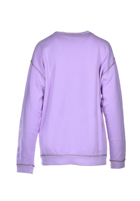 long-sleeved sweatshirt - lavender M MISSONI | Sweatshirt | 2DN001592J002153620