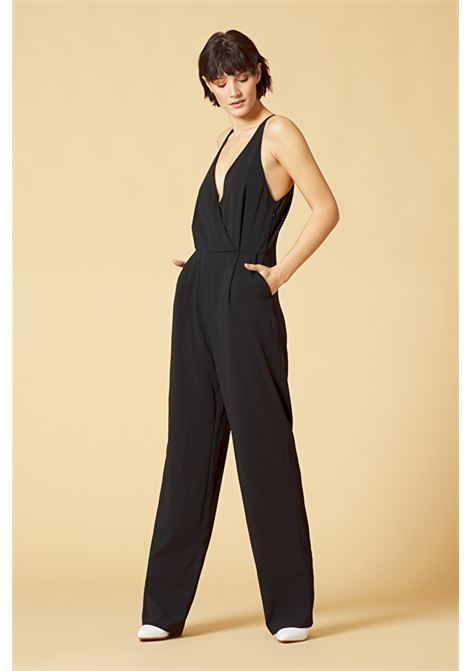 Jumpsuit with wrap neckline MANILA GRACE |  | A215PUMD500
