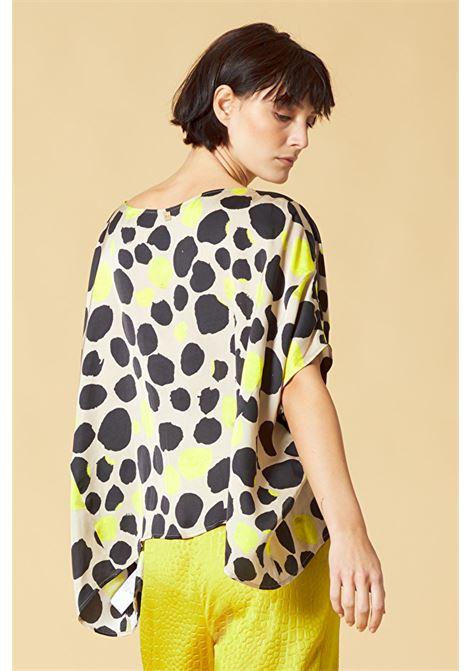 Printed blouse MANILA GRACE | Blouse | C181VSMD838