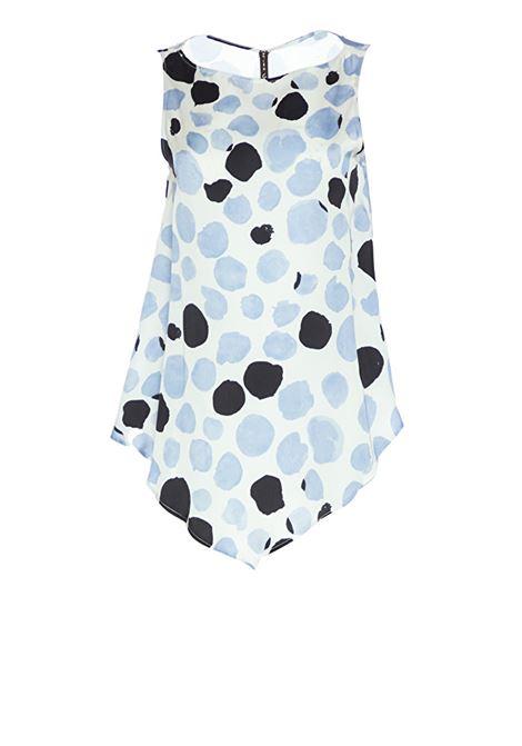 Printed blouse MANILA GRACE   Blouse   C238VSMD824