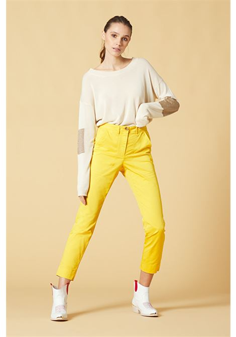 Back-stitched chino trousers  MANILA GRACE | Pants | P499CUMD873
