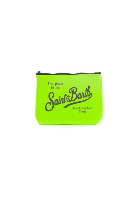 Aline clutch bag in fluorescent green MC2 SAINT BARTH | Bags | ALINE7500