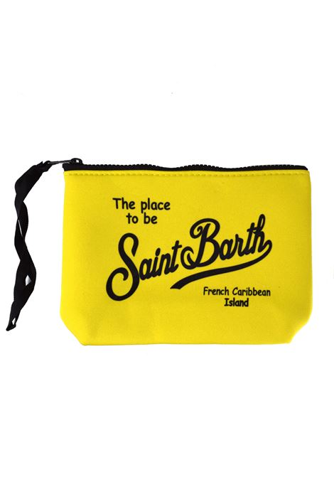 Fluorescent yellow aline clutch bag MC2 SAINT BARTH | Bags | ALINE9400