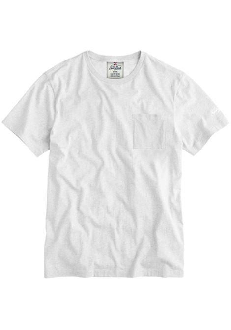 Linen white t-shirt MC2 SAINT BARTH | T-shirts | ECSTASEA01