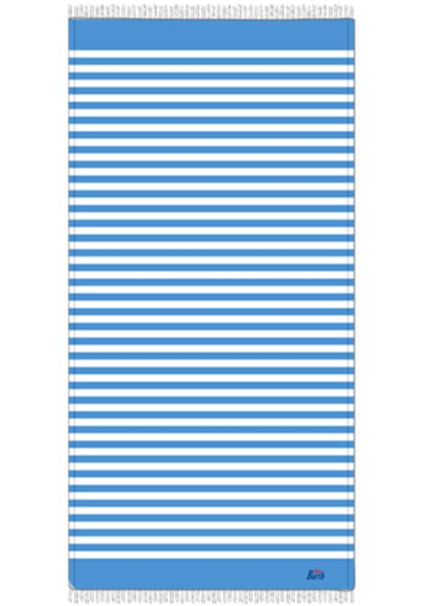 light cotton beach towel - light blue MC2 SAINT BARTH |  | FOUTASLIG17