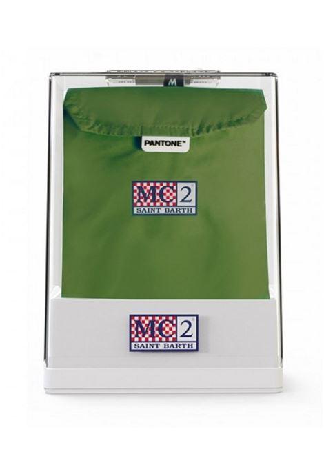 PANTONE® special edition ultralight swimwear - military green MC2 SAINT BARTH | Swimwear | LIGHTING PANTONE52