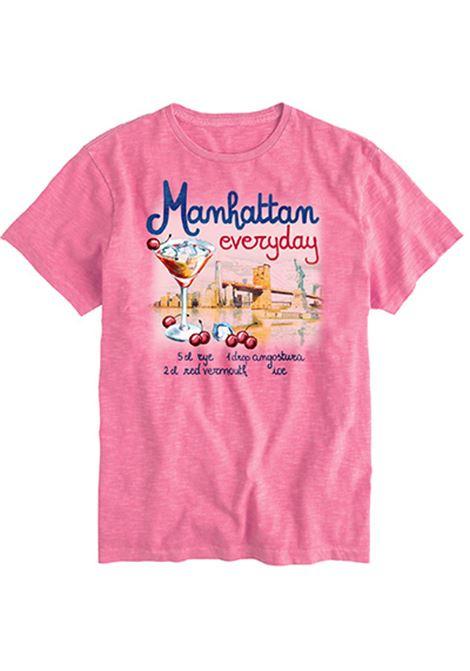 men's t-shirt - Manhattan everyday MC2 SAINT BARTH | T-shirts | SKYLARMNDR21