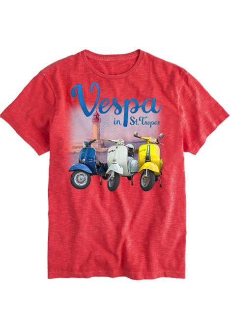 men's t-shirt special edition Vespa® - Saint Tropez MC2 SAINT BARTH |  | SKYLARVPTR41