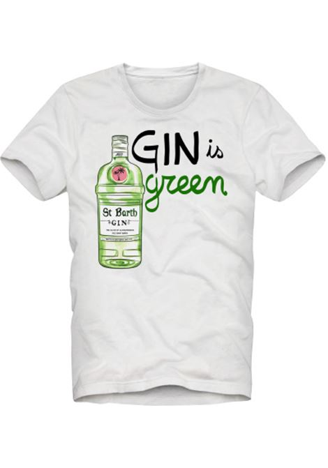 men's t-shirt - gin is green MC2 SAINT BARTH |  | TSHIRT MANGING01