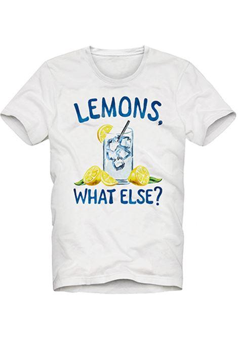 men's t-shirt - lemons MC2 SAINT BARTH |  | TSHIRT MANLEMS01