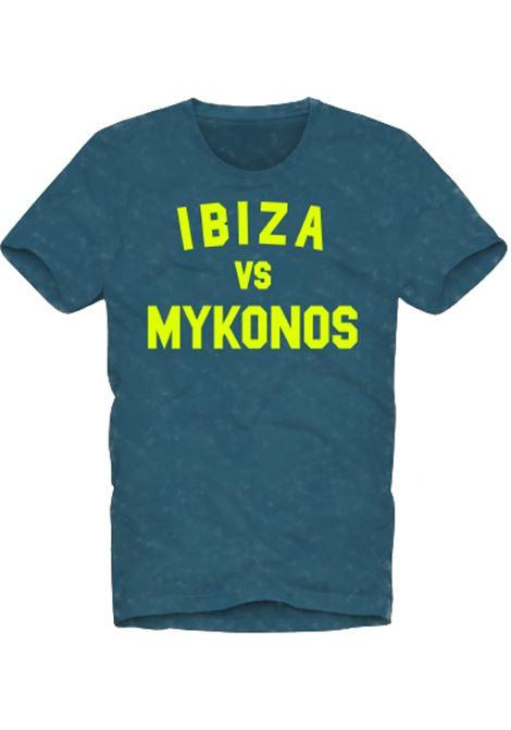 men's t-shirt - Ibiza vs mykonos  MC2 SAINT BARTH |  | WINWOODIBMY17