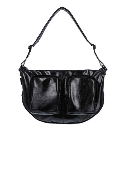 Shoulder bag with pockets in naplak eco leather MOMONI | Bags | MOBC004 61MO0990