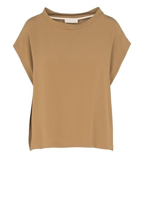 Round neck top MOMONI | Blouse | MOBL004 04MO0630
