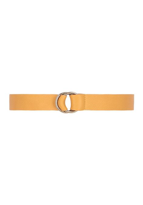 Cowhide belt with ring closure MOMONI | Belts | MOBT002 64MO0260