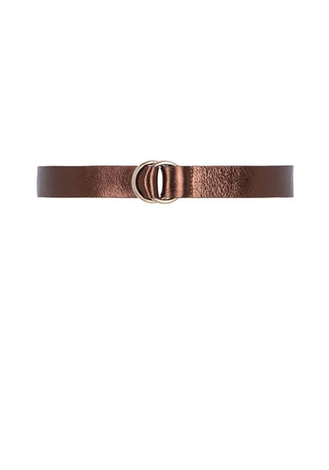 Cowhide belt with ring closure MOMONI | Belt | MOBT002 64MO0271