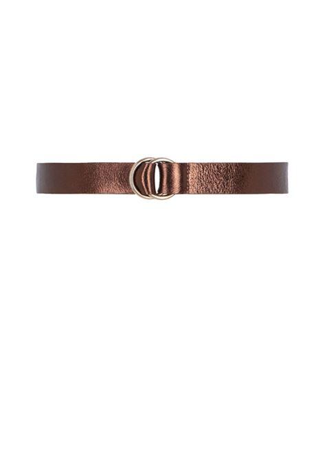 Cintura in pelle con anello MOMONI | Cinture | MOBT002 64MO0271