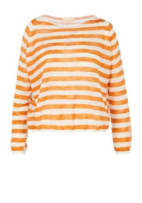 Sweater in linen blend MOMONI | Sweaters | MOKN009 41BMO1025
