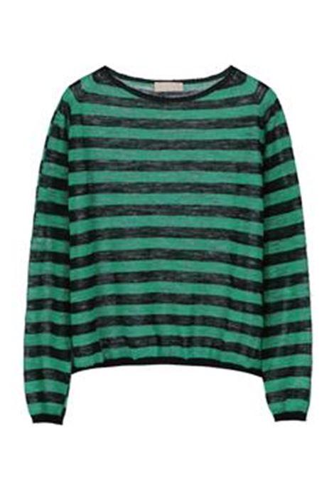Sweater in linen blend MOMONI | Sweaters | MOKN009 41BMO9007