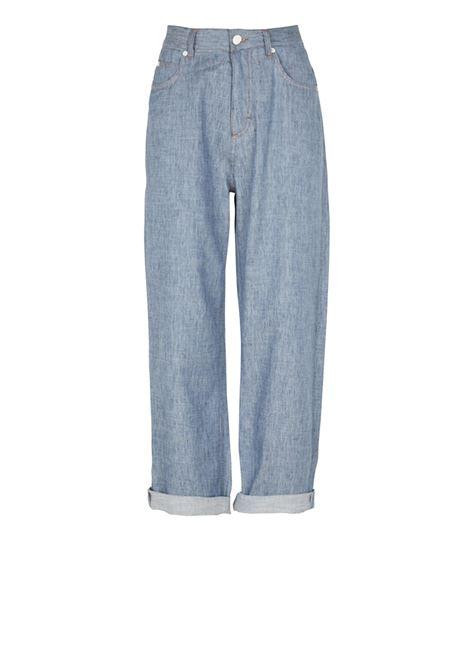 Washed boyfriend jeans MOMONI | Jeans | MOPA018 17MO0875