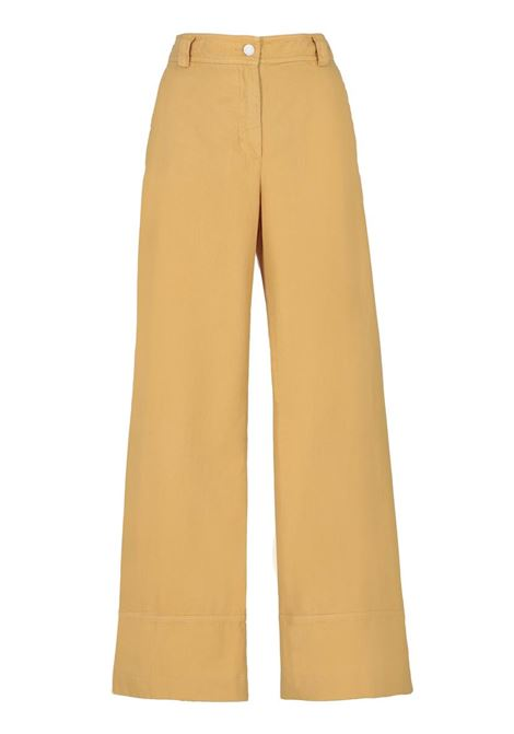 HIGH-WAISTED COTTON GABARDINE PANT MOMONI | Trousers | MOPA021 20MO0240